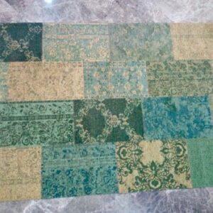 Tappeto patchwork Verde